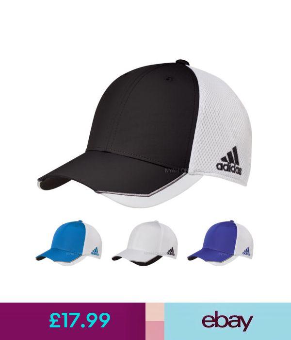 NEW adidas FLEXFIT CAP FITTED MESH BASEBALL GOLF TRUCKER P d2ae697a8de