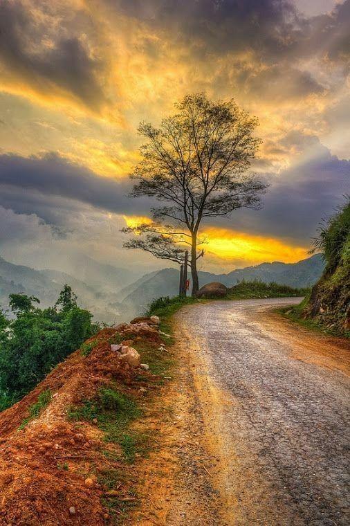 #Roçalíriosdocampo: LINDAS PAISAGENS caminhos,estradas,por do sol