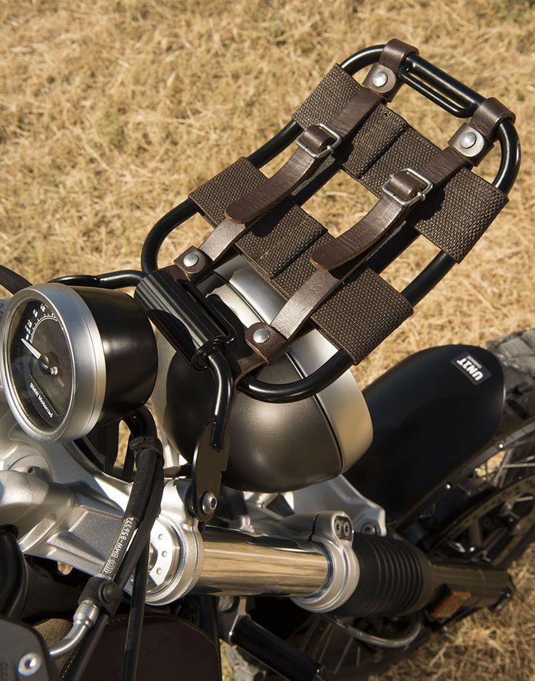 "UNITGARAGE - ""Front Luggage Rack"" for BMW - black"