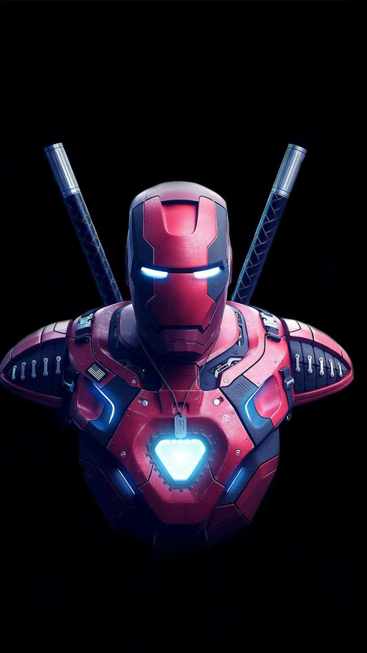 Iron Deadpool Art, HD Superheroes Wallpapers Photos and Pictures