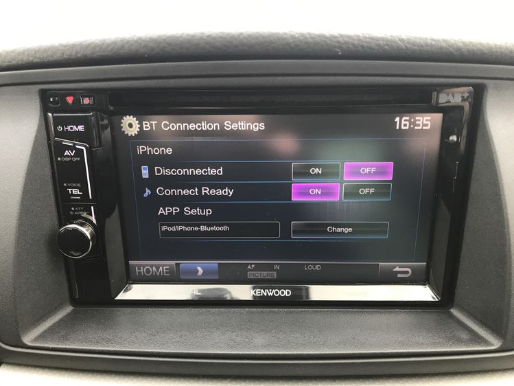 KENWOOD Bluetooth music streaming okay but not Phone?