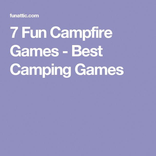 7 Fun Campfire Games Best Camping Games Campfiregames