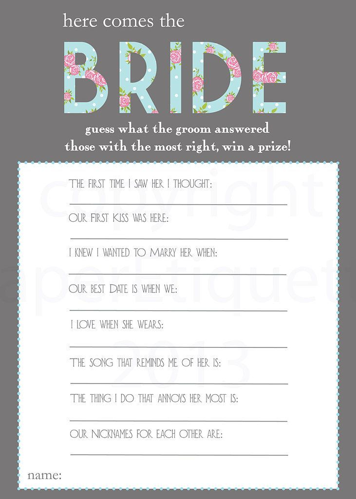 printable bridal shower games i kind of like this game tanya knyazeva knyazeva knyazeva philippi cristina abraham amber parker gracia fraile fraile