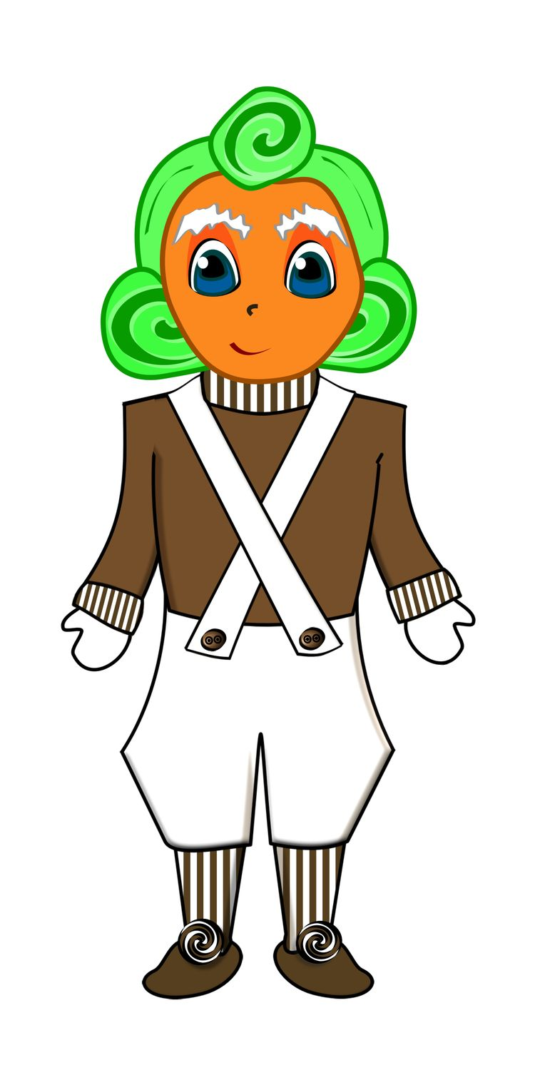 Oompa Loompa Coloring Pages Www Topsimages Com