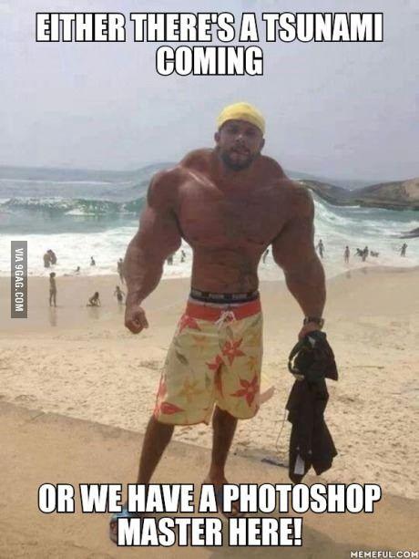 Those photoshop skills!