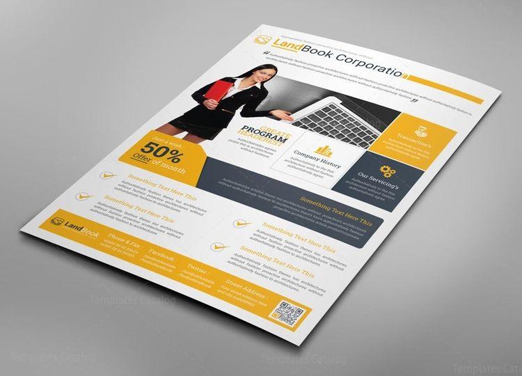 Alberta Professional Business Flyer Design Template - Graphic Templates