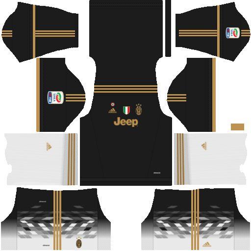 size 40 14c1d 61422 Juventus 2018-2019 Kit & Logo - Dream League Soccer