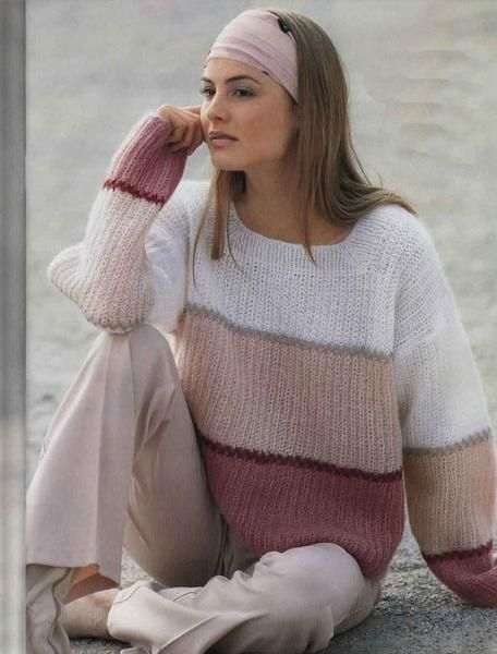 """WomensHandKnit Mohair Sweater. Premium Quality Yarns. Any Sizes and Any Colors. Made by KnitWearMasters: 1000's of Satisfied Customers, World Class Hand Knit Products. MADE-TO-ORDER MODEL - Material: Mohair - Production time: 3-4 weeks HOW TO ORDER: 1.Choose size ( see """"Size Chart"""" for help) 2.Choose color (see Yarn'"""