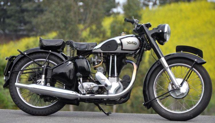 1952 Norton ES2 – sold for $8,688.81 after 32 bids in Costa Mesa, California.