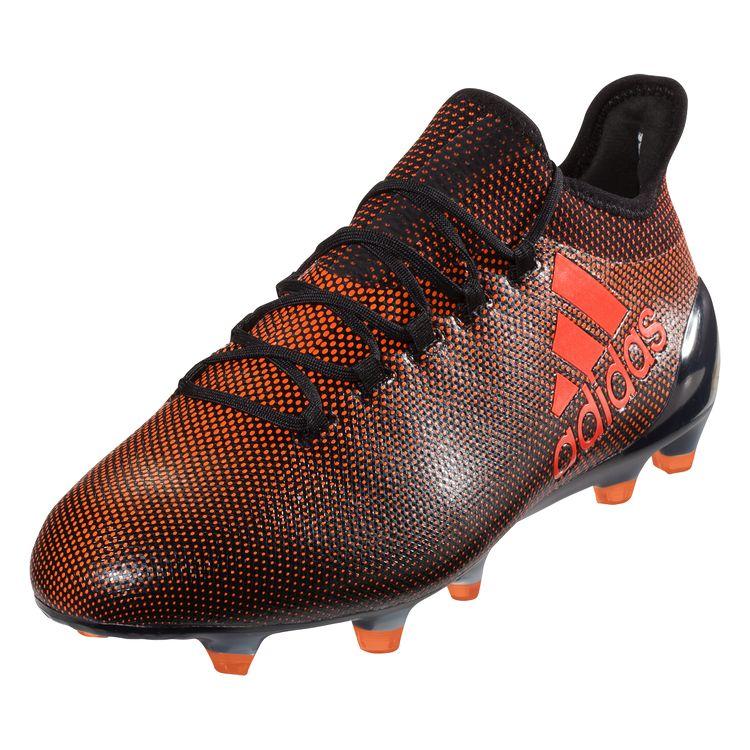 98af34fc3213 adidas X 17.1 FG Soccer Cleats - Core Black Solar Red Solar Orange