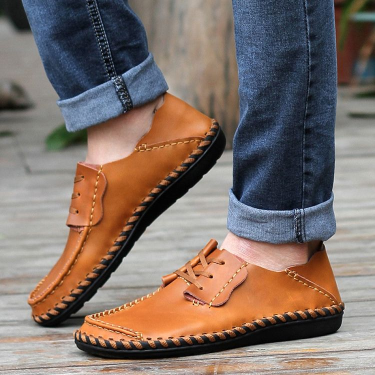 Fashion Casual Leather Men's Shoes