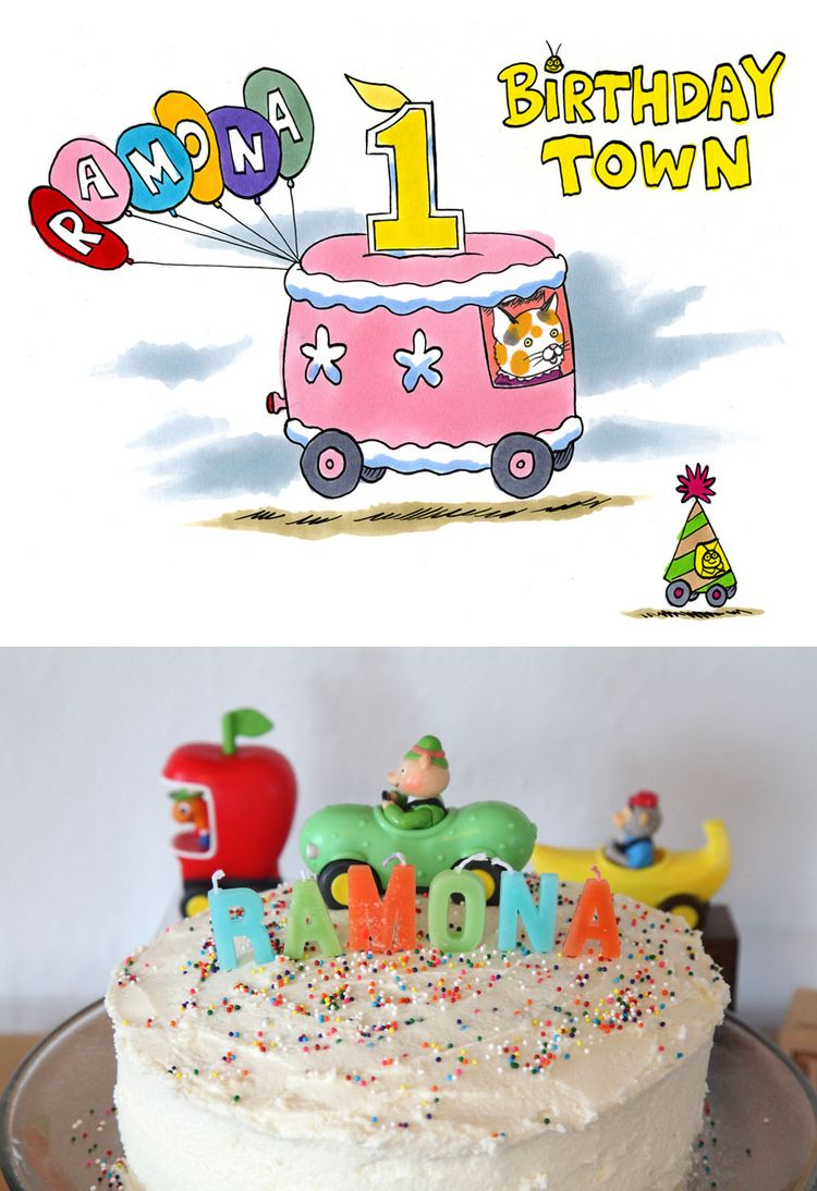 Busytown Mysteries Birthday Cake