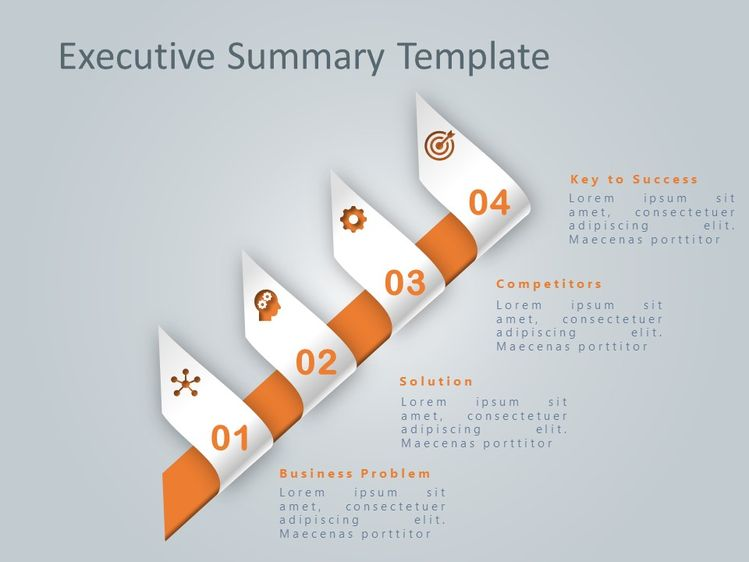 executive summary powerpoint template 8 slideuplift