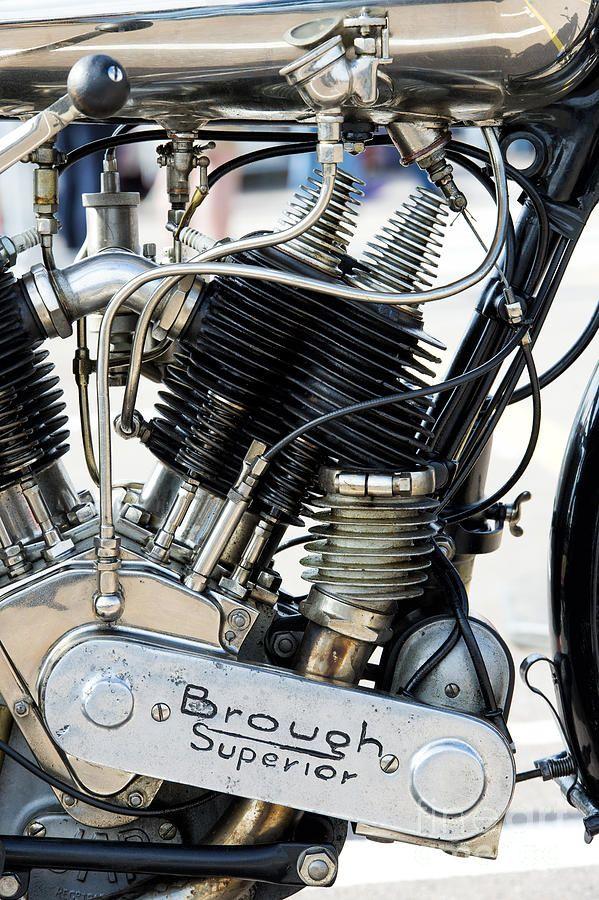 Brough Superior SS80 JAP engine.