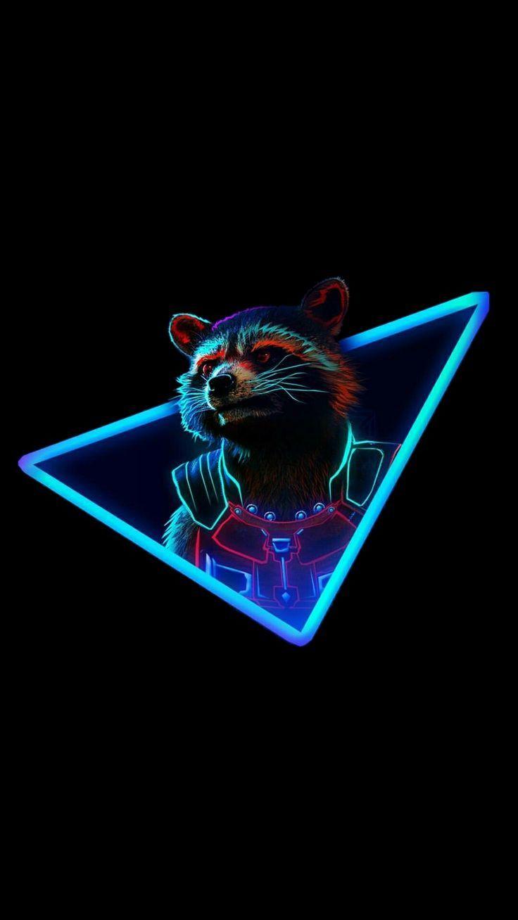 Rocket Raccoon - Wallpapers - Wallpaper  #marvelanimation #marvelelgends #marveloriginalsin #marvelscreen