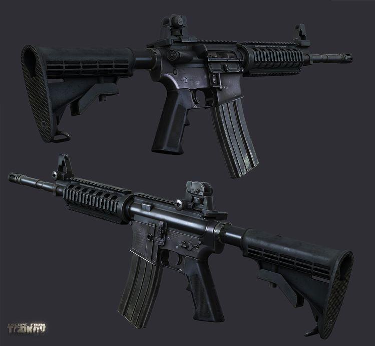 M4A1 assault rifle, Nikita Buyanov