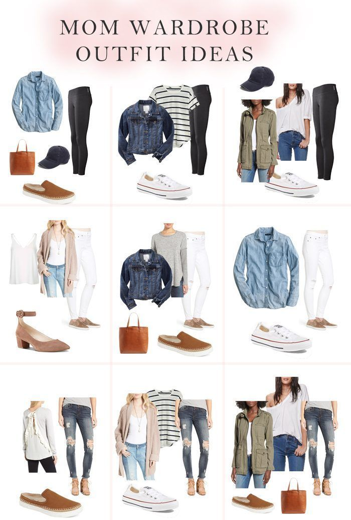 Mom Wardrobe Must Have Items // Mom outfit ideas // Basic outfit ideas