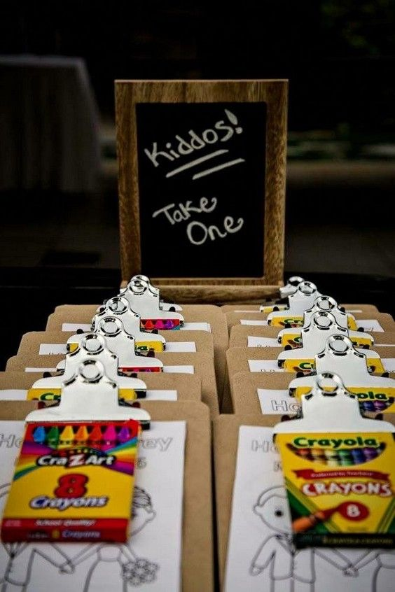 20 Ways to Keep Kids Entertained at Weddings