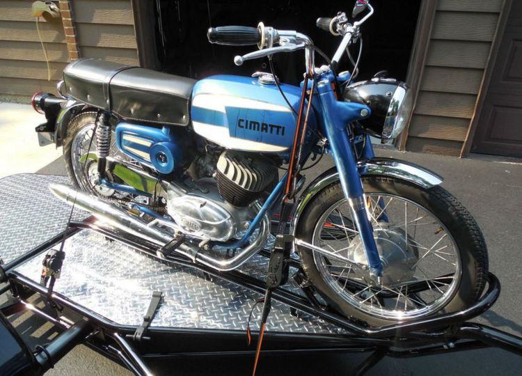 1966 Cimatti 160 – did not meet reserve with bidding up to $2,600 in Deerfield, Illinois