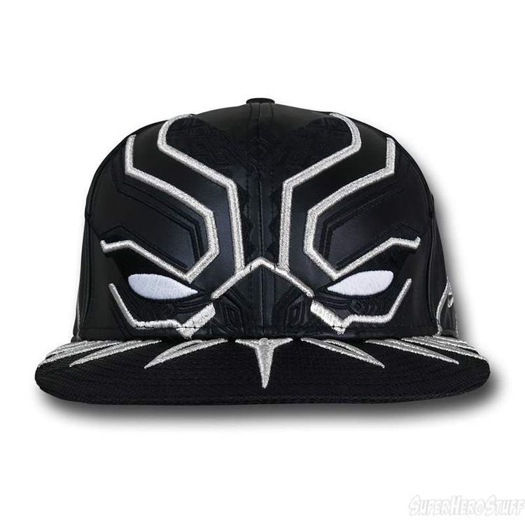 125d47b536791 Black Panther Armor New Era 5950 Hat