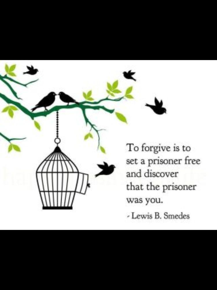To Forgive Is To Set A Prisoner Free And Discover That The