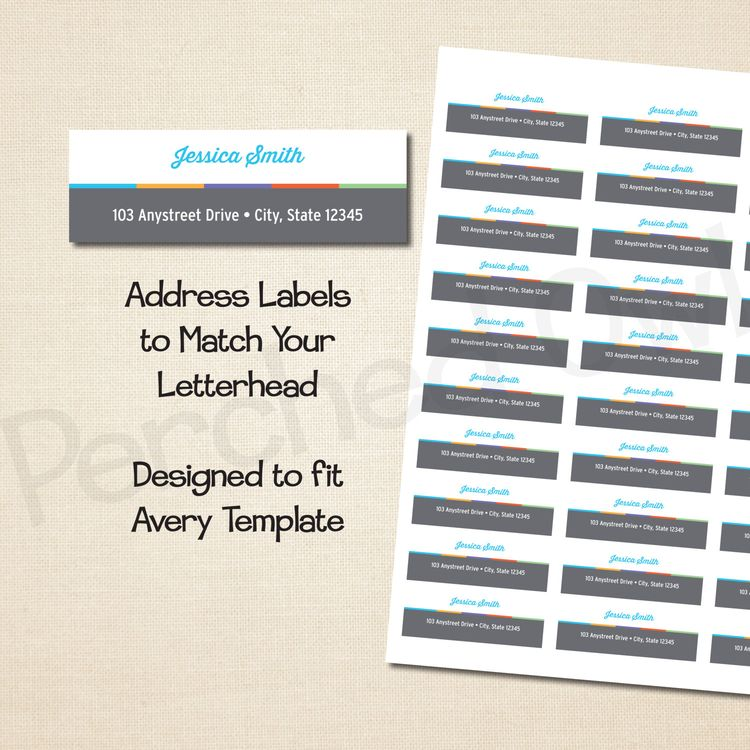 address labels skincare stationery direct selling