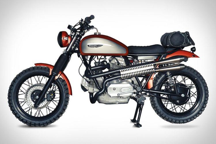 Analog Ducati Scrambler | Uncrate