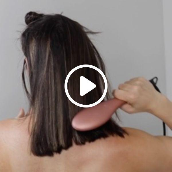 Endireite seu cabelo na metade do tempo com menos calor!