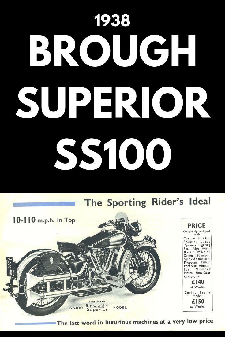 1938 Brough Superior SS100 - revivaler.com