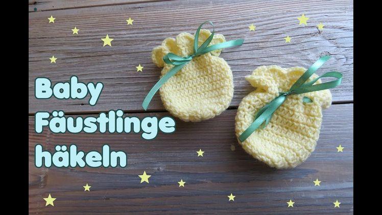 Fäustlinge Für Babys Häkeln Handschuhe Ganz Einfach