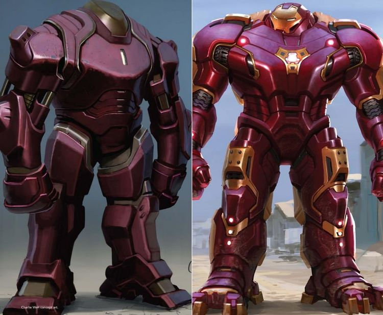 We have another awesome gallery of rarely seen Avengers: Age of Ultron concept art for you here and the focus is now on Iron Man's Hulkbuster armour! Needless to say, it could have looked a lot different!