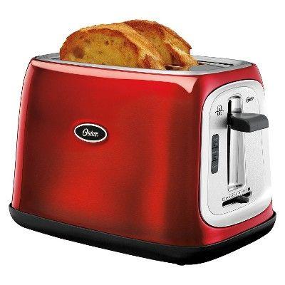 oster 2 slice toaster metallic red tssttrjb07 rh pinosy com