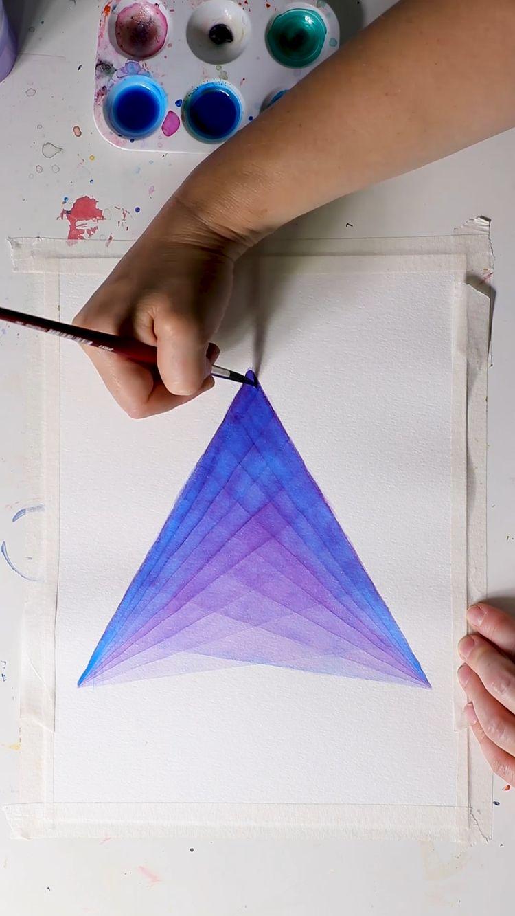 Beautiful Watercolor Layers by Josie Lewis