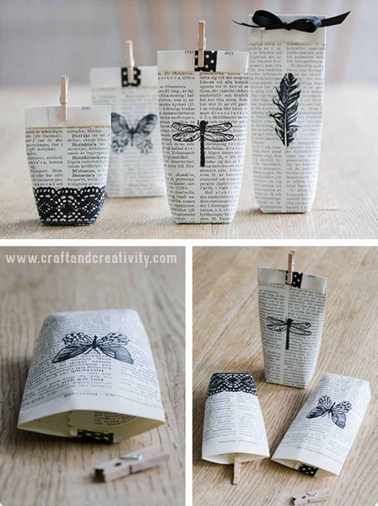 15 DIY Old Book Craft Ideas That Are Beautifully Vintage Looking - Craftsonfire