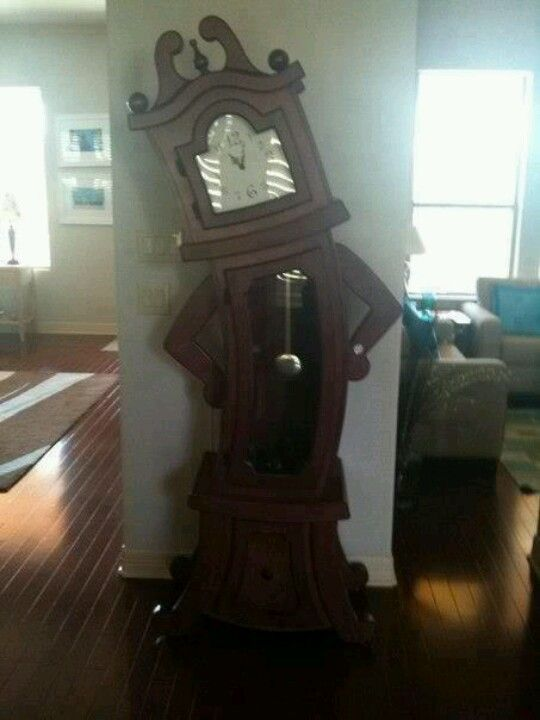 Grandfather Clock Scary And Whimsical At The Same Time