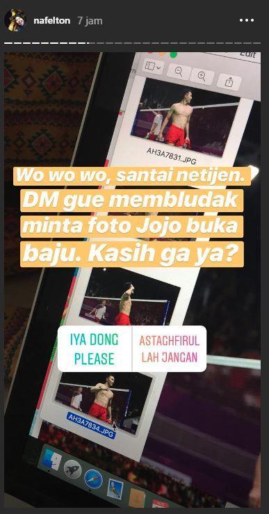 Nafielah Mahmudah dapat banyak DM dari netizen