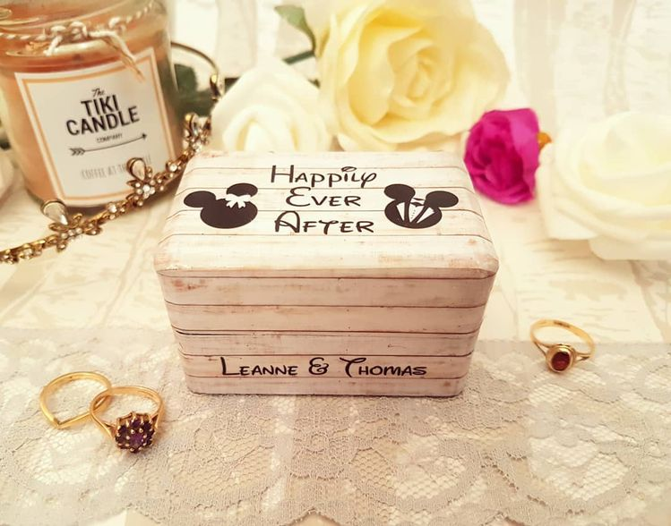 Disney Wedding Ring Box My Dream Wouldnt Be Complete