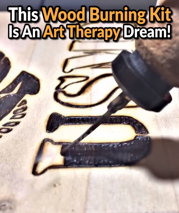 😊🔥Relax With The Art Of Pyrography - 50% OFF