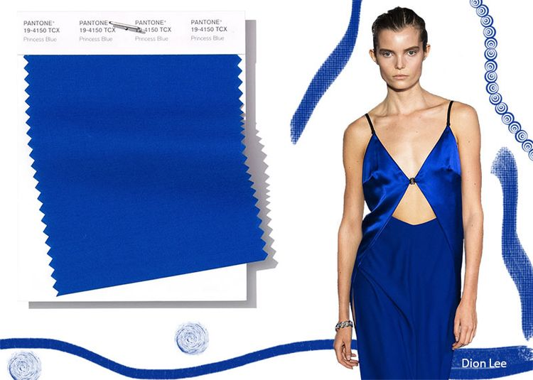 Pantone Spring/ Summer 2019 Colors Trends: Princess Blue