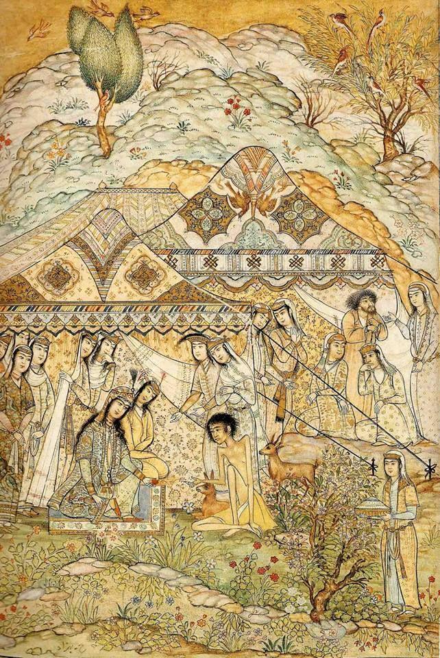 The By Hosein And Behzad Of Majnoon Story Leyla dCeBxo