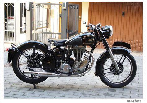 Ajs 16m 350 cc 1952