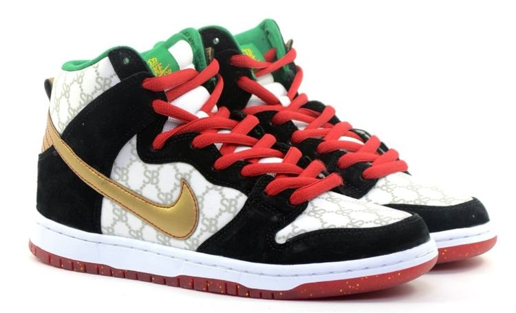 "size 40 b4953 8077b Black Sheep x Nike SB Dunk High ""Gucci"" - Release Date - SneakerNews.com"