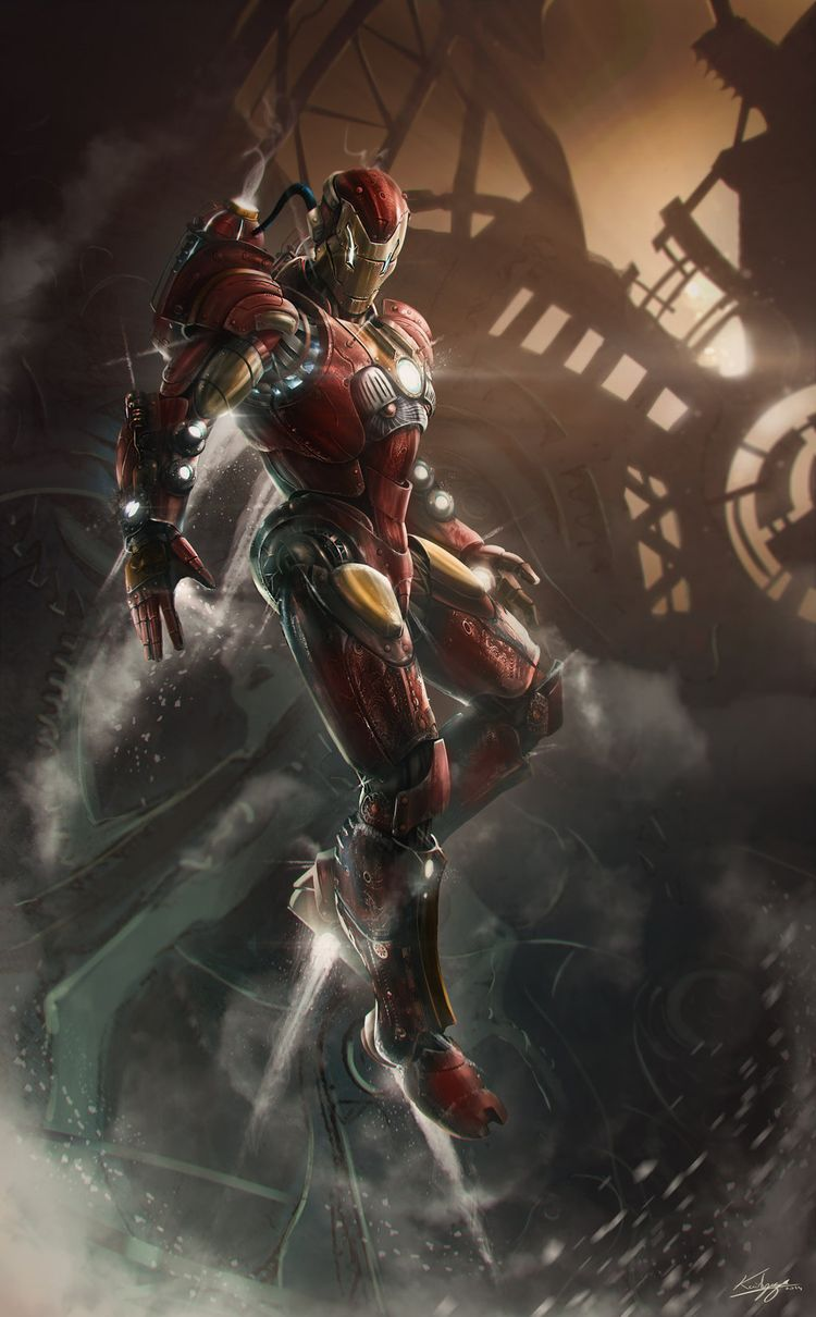 Ironman C14 - Digital Art - Fribly