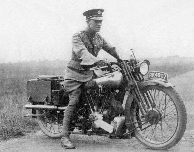 Lawrence of Arabia on a Brough Superior he called George V. Lawrence owned eight Broughs: 1922: Boa (short for Boanerges) 1923: George I (£150 was more than the price of a house) 1924: George II 1925: George III 1926: George IV 1927: George V (RK 4907; see photo) 1929: George VI (UL 656) 1932: George VII (GW 2275) (the bike he died riding) Undelivered: George VIII (still being built when Lawrence was killed).