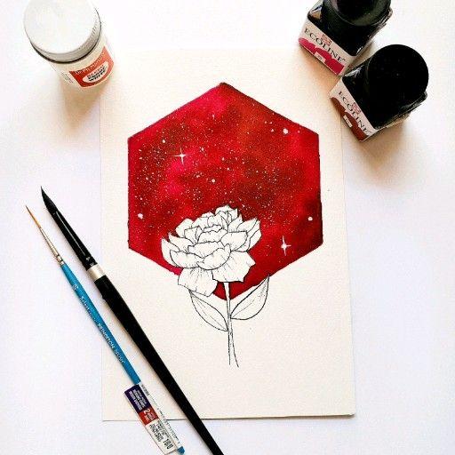 Galaxy floral