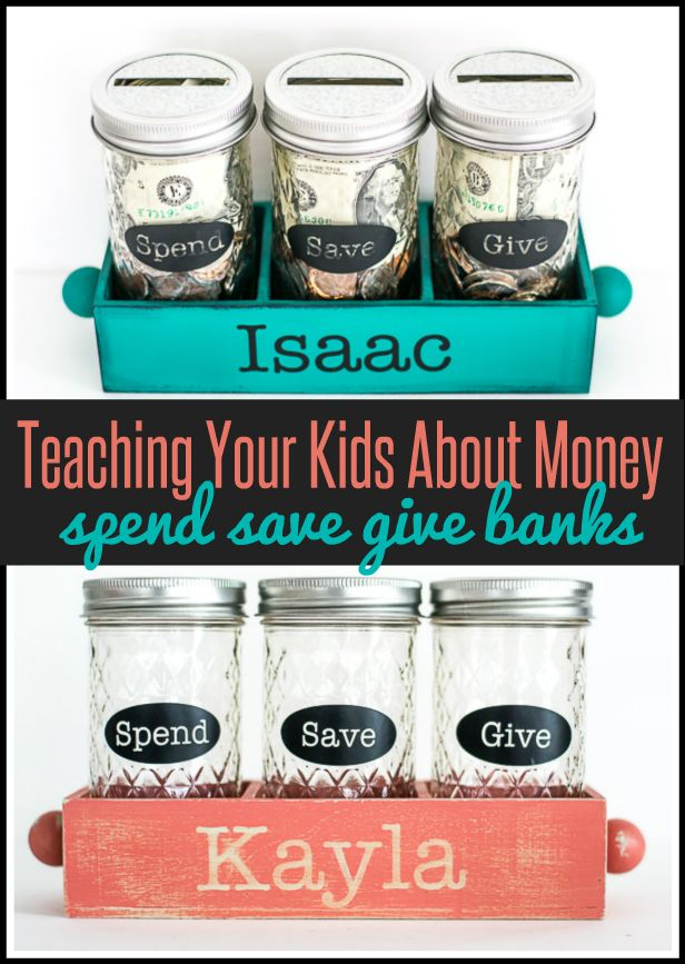 PARENTING: Teaching kids about money with a DIY spend save give jar