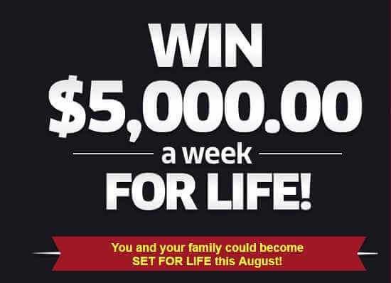 PCH Win $5,000 A Week For Life Sweepstakes Entry 2019