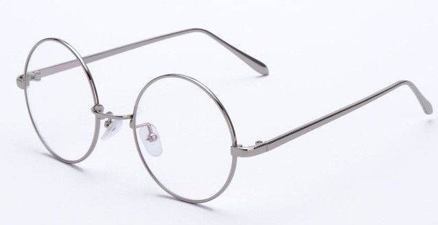 40f12e189b8d Vintage Round Metal Women Eyeglasses Frames Optical Frame For Men Eyeglass  Clear Lens Anti-blue ray oculos feminino de grau