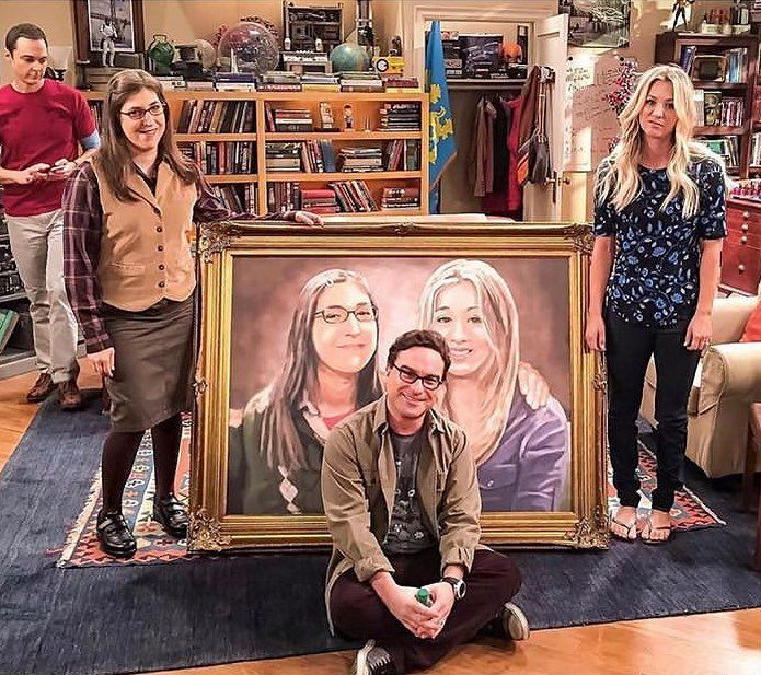 "The Big Bang Theory🙌🏻💘 on Instagram: ""Post something exciting soon! (probably most exciting for editors) • • #jimparsons #mayimbialik #johnnygalecki #kaleycuoco"""