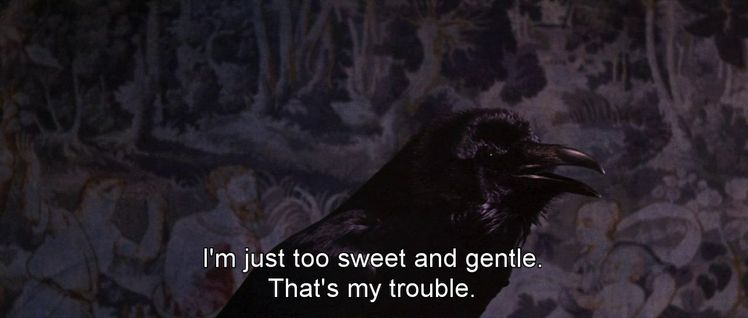 The Raven 1963 Aesthetic Movie Lines Wise Words Beautiful